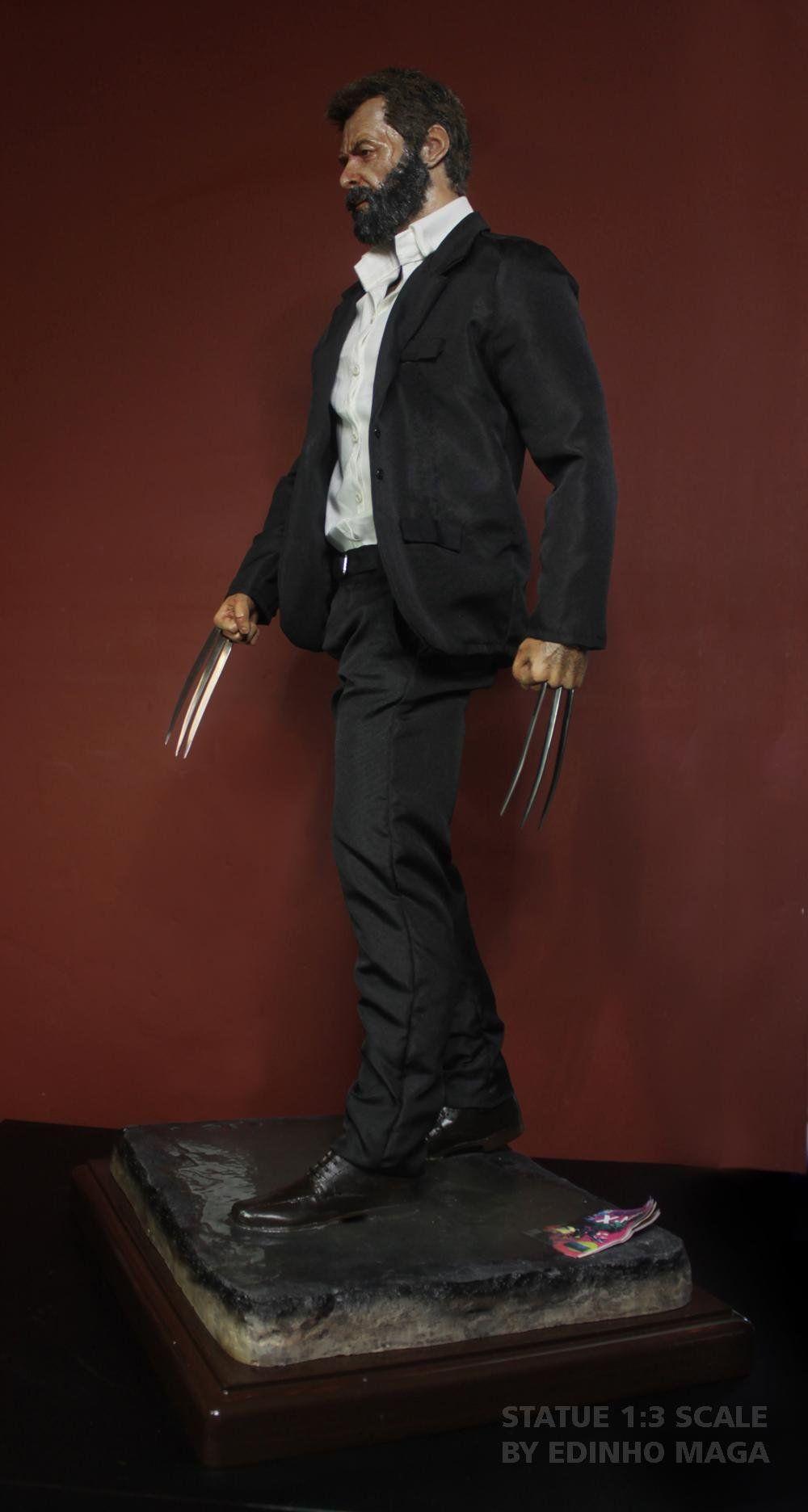 Estátua Logan (Wolverine): Escala 1/3 - By Edinho Maga