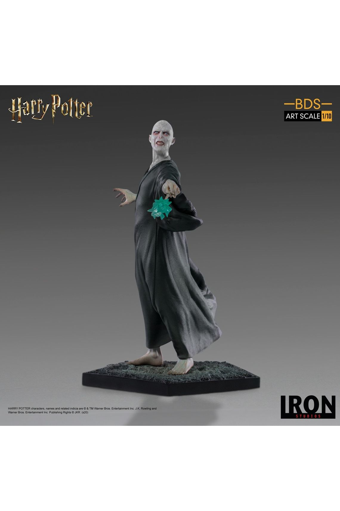 Estátua Lorde Voldemort: Harry Potter Escala 1/10 - Iron Studios