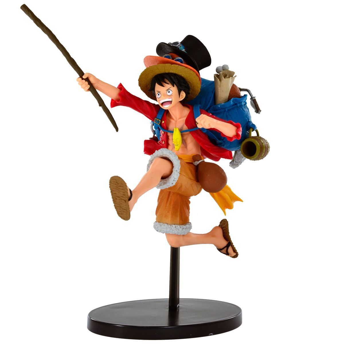 Estátua Monkey D Luffy (Special Design): One Piece - Banpresto
