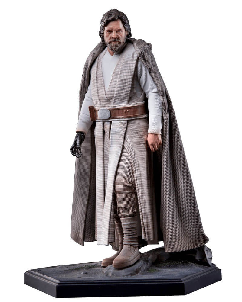 Estátua Luke Skywalker: Star Wars: O Despertar da Força Art Scale Escala 1/10 - Iron Studios