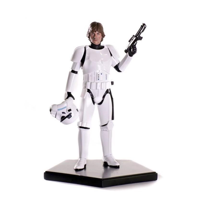 Estátua Luke Skywalker Stormtrooper Disguise: Star Wars Episódio IV: Uma Nova Esperança Art Scale Escala 1/10 - Iron Studios