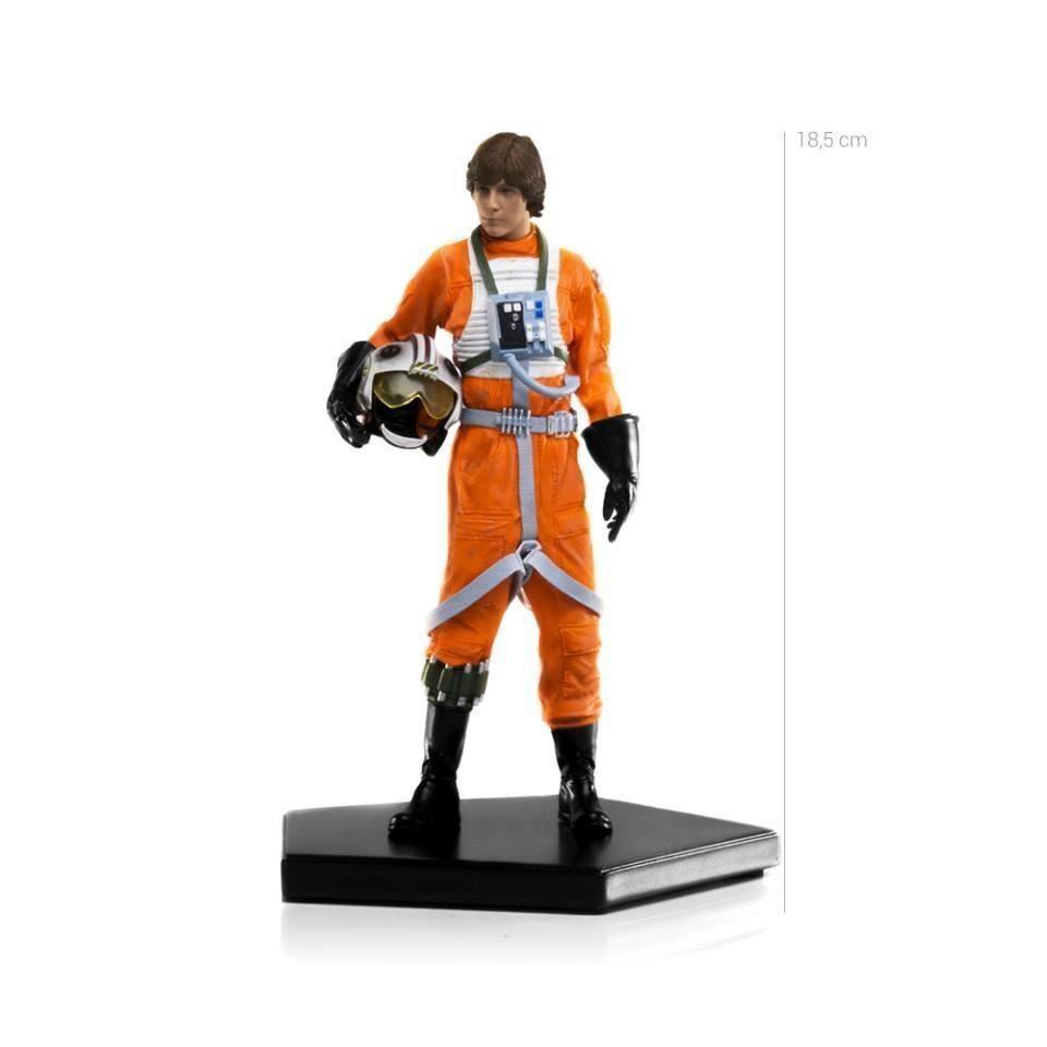 Estátua Luke Skywalker X-Wing Pilot: Star Wars IV: Uma Nova Esperança Escala 1/10 - Iron Studios - CD