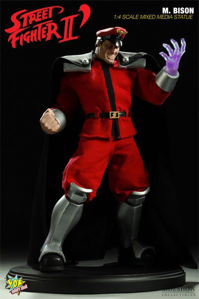 Estátua M. Bison: Street Fighter II (Escala 1/4) - Pop Culture Shock