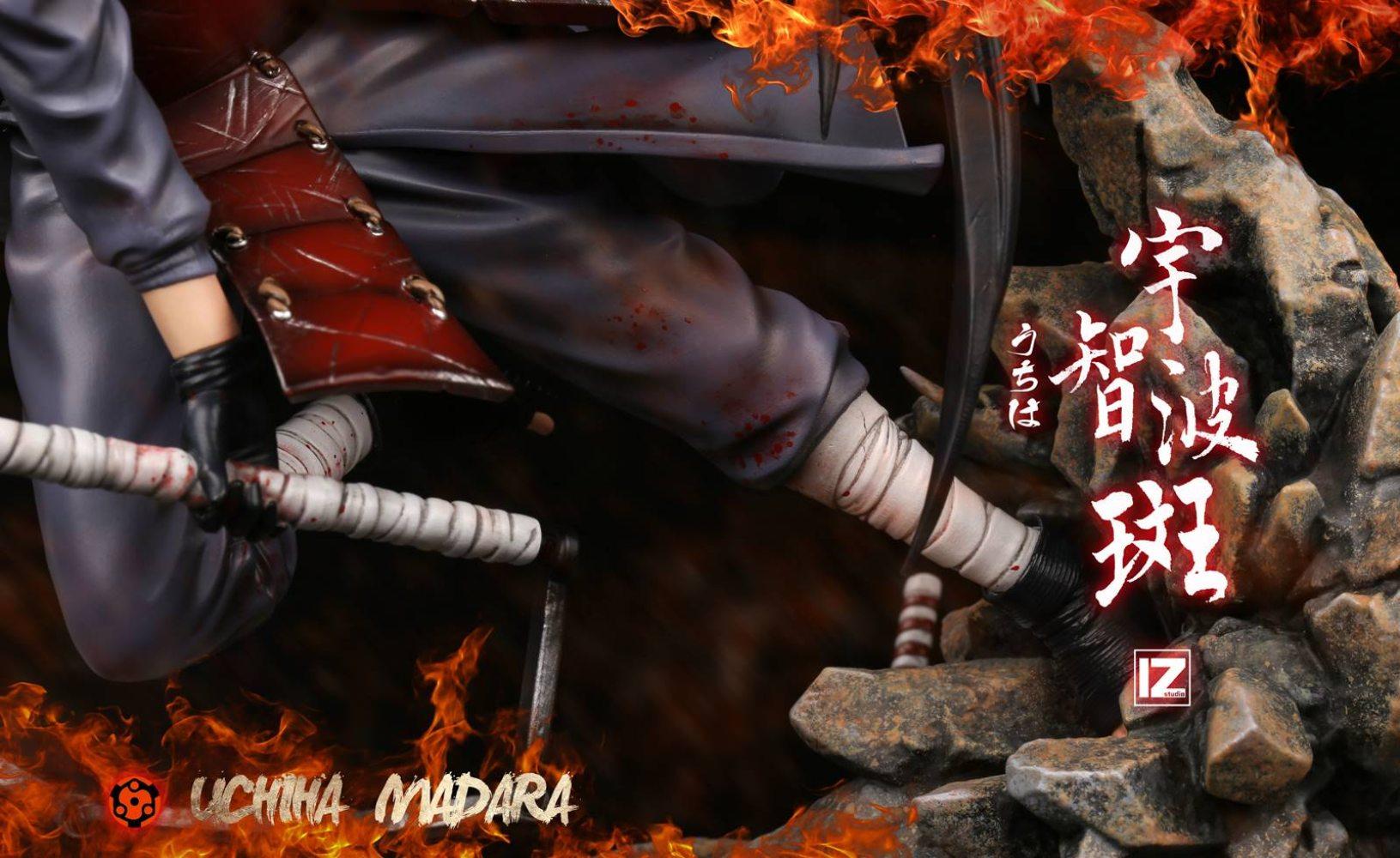 PRÉ VENDA: Estátua Madara Uchiha: Naruto Shippuden - IZ Studio