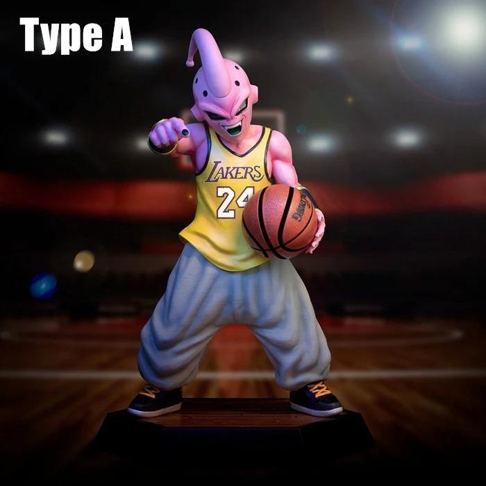 Estatua Majin Boo: Dragon Ball Z Basquete Basket Lakers Escala 1/6 16 cm - EV
