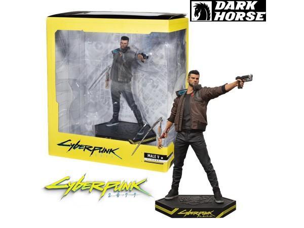 Estátua Male V: CyberPunk 2077 - Dark Horse