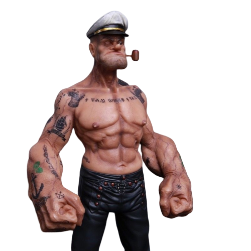 Estátua Marinheiro Popeye: The Sailor Man Escala 1/6 - Headplay