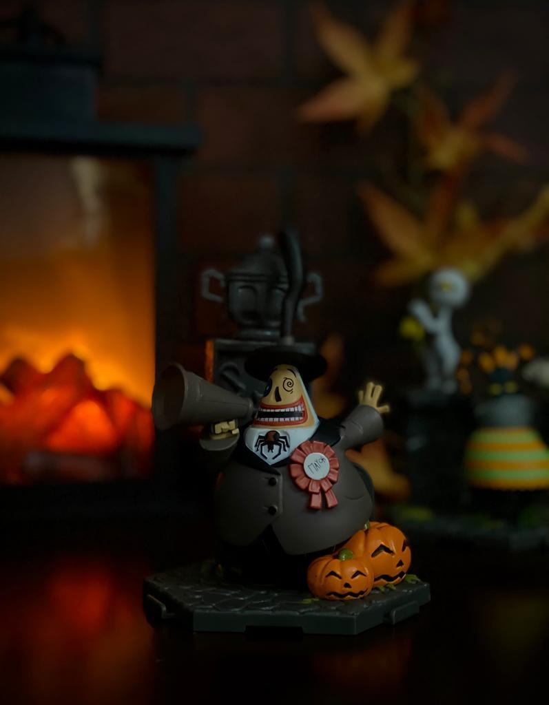 Estátua Mayor Prefeito 020: O Estranho Mundo de Jack The Nightmare Before Christmas - Sunny