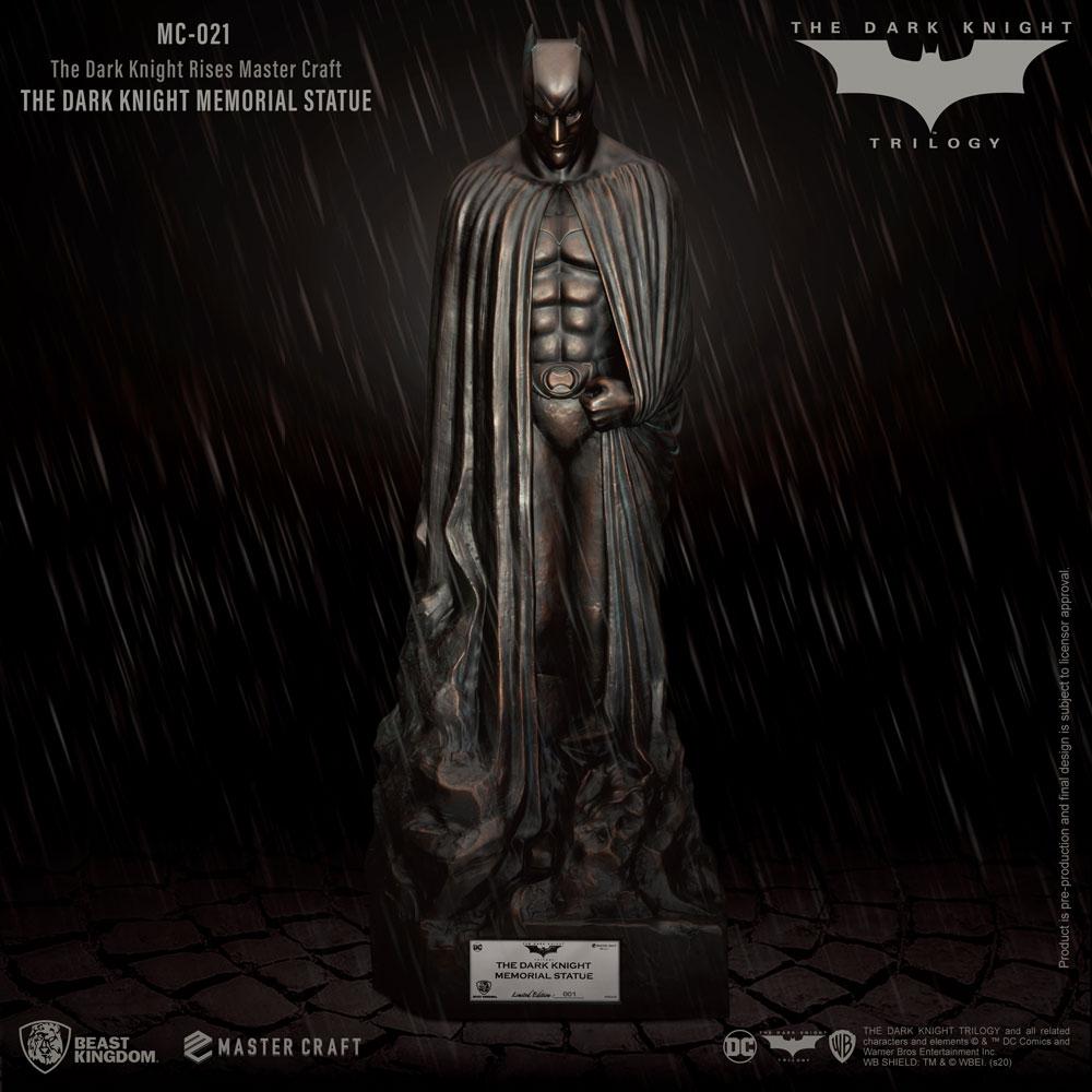 Estátua Memorial Batman: O Cavaleiro Das Trevas The Dark Knight - Beast Kingdom