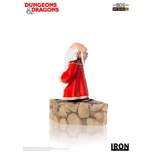 Estátua Mestre Dos Magos: Caverna do Dragão (Dungeons & Dragons) (BDS Art) (Escala 1/10) - Iron Studios