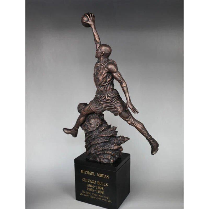 Estátua Michael Jordan n° 23 Chicago Bulls - Dunk City - Fanatic Studios - EV