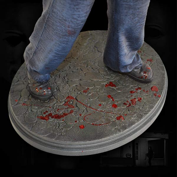 Estátua Michael Myers: Halloween Escala 1/4 - Hollywood Collectibles - CD