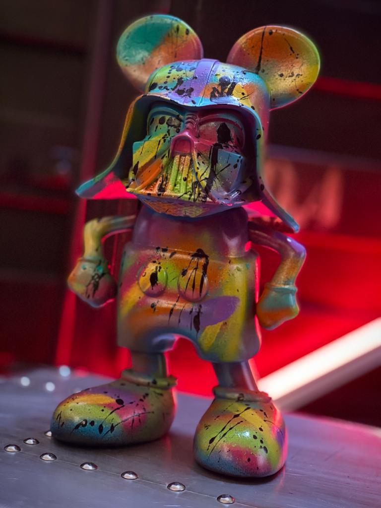 Estátua Mickey Vader V2 Pop Art By Russ - EV
