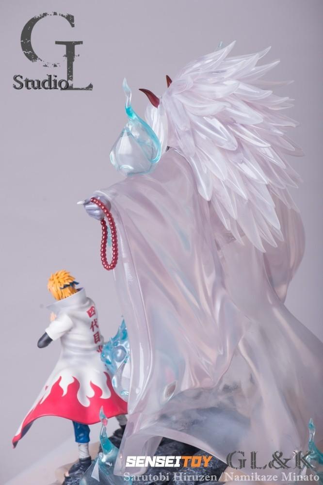 PRÉ VENDA: Estátua Minato e Hiruzen (Jutsu Shiki F?jin): Naruto Shippuden - GL Studio