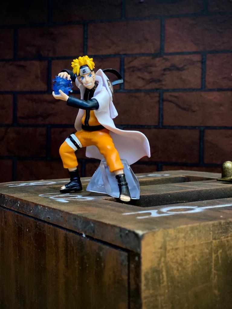 Estátua Mini Figura Naruto Uzumaki: Naruto Shippuden 12 cm - Anime Mangá
