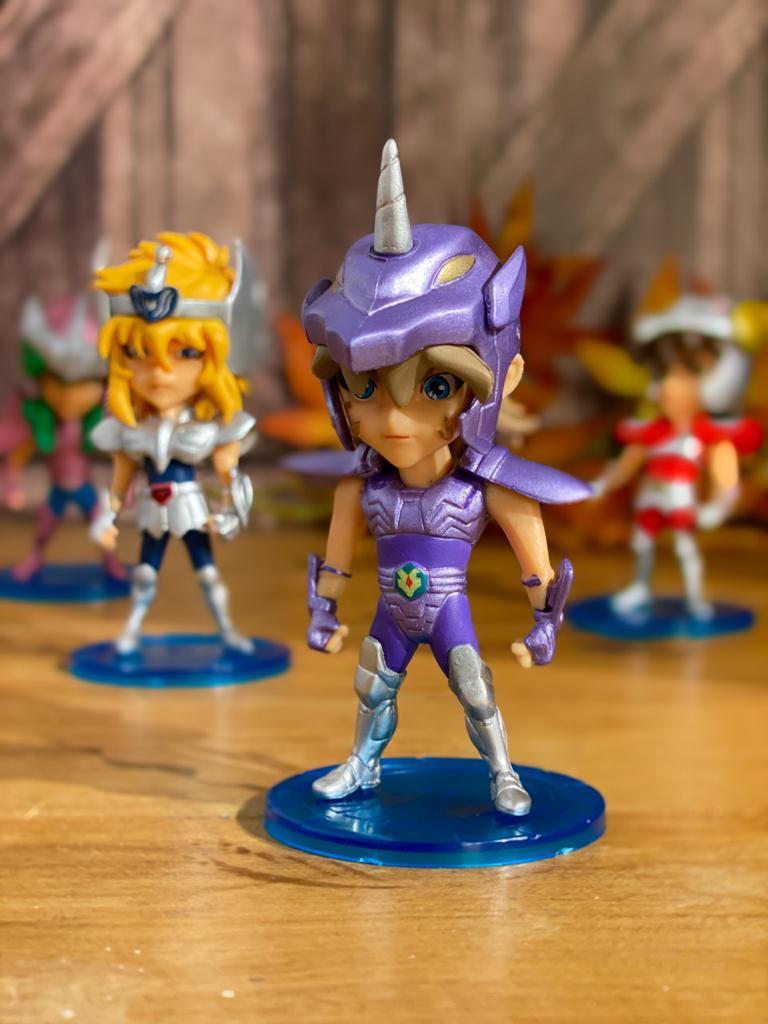 Estátua Miniatura Jabu de Unicornio: Os Cavaleiros Dos Zodíacos Saint Seiya - Anime Mangá