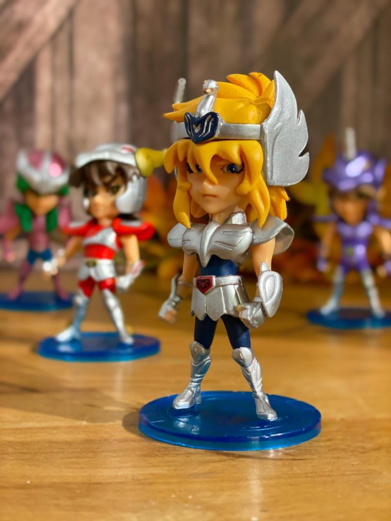 Estátua Miniatura Yoga de Cisne: Os Cavaleiros Dos Zodíacos Saint Seiya - Anime Mangá
