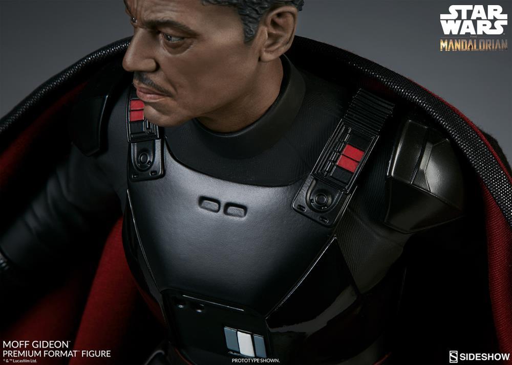 Pré Venda: Estátua Moff Gideon: Star Wars The Mandalorian Escala 1/4 (Premium Format) - Sideshow Collectibles