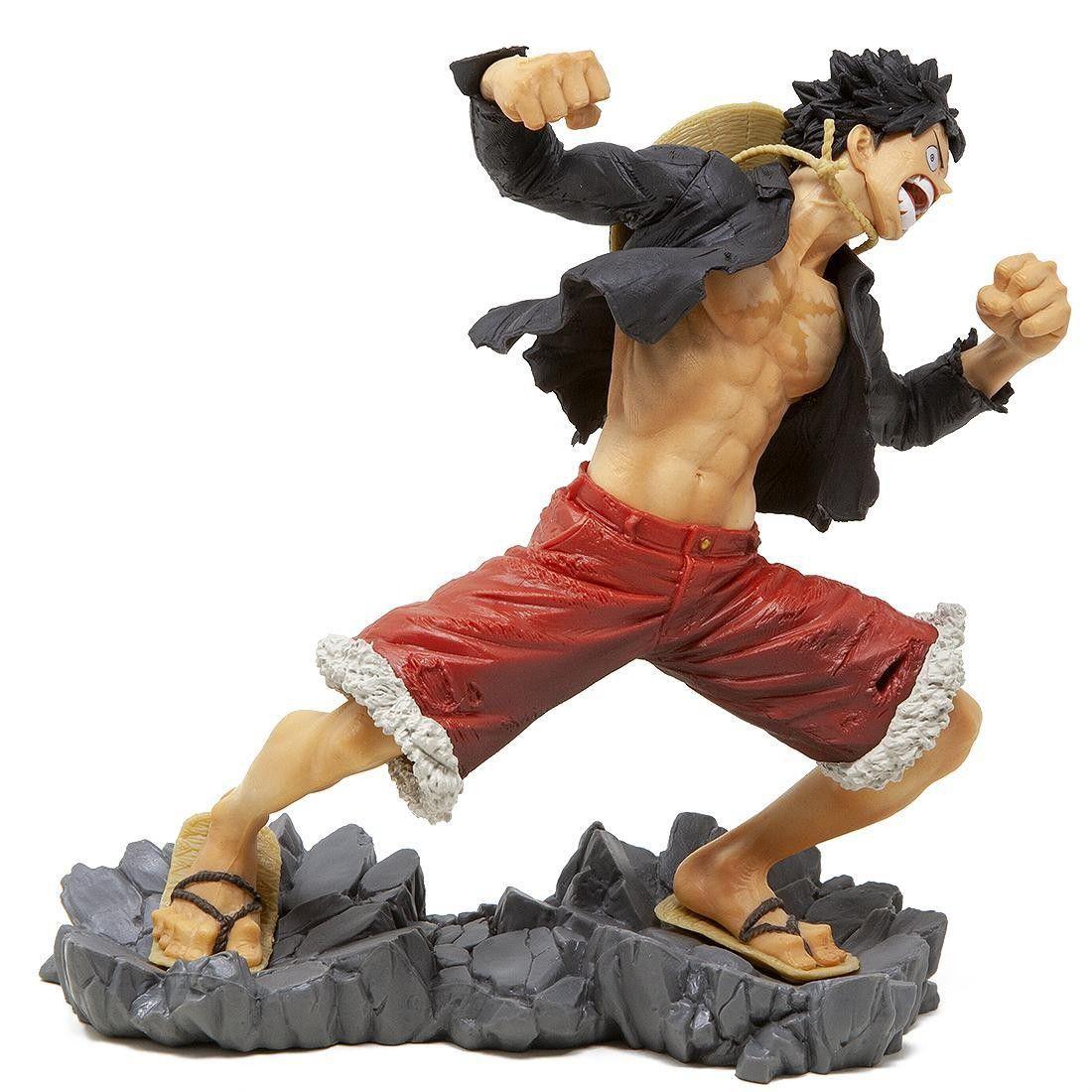 Estátua Monkey D Luffy (20th): One Piece - Banpresto