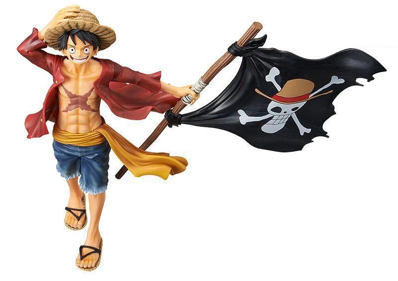 Estátua Monkey D. Luffy (Magazine): One Piece - Banpresto