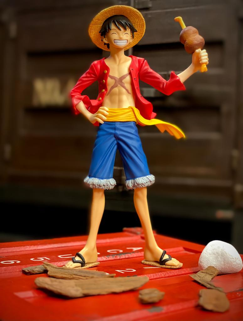 Estátua Monkey D. Luffy: One Piece  Portrait Of Pirates (P.O.P) Sailing Again Ver. 3 - Excellent Model Series