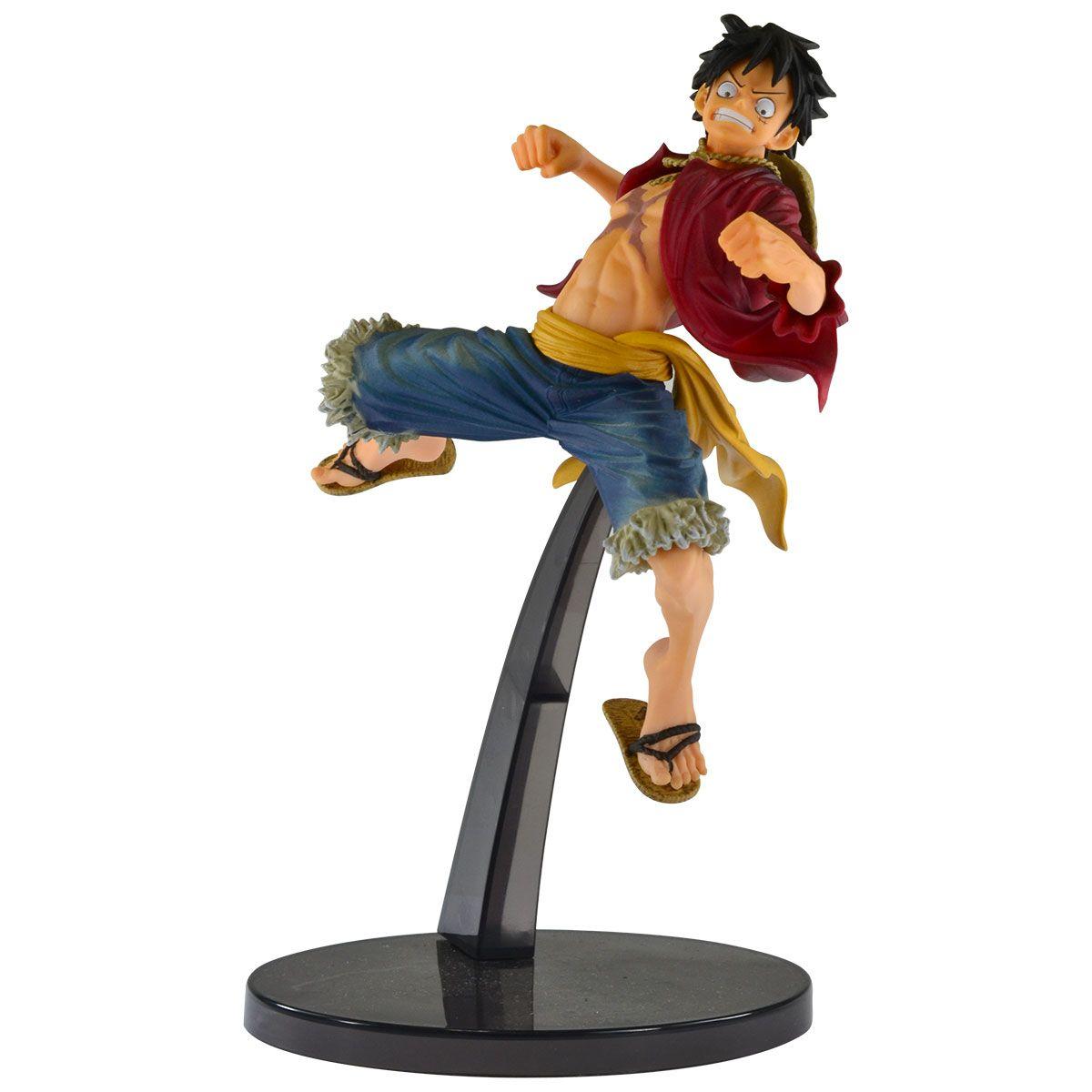 Estátua Monkey D. Luffy Special (World Figure Colosseum): One Piece - Banpresto