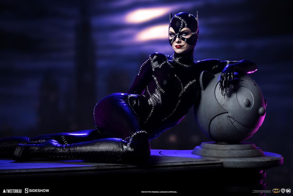 Pré Venda Estátua Mulher Gato - Catwoman: Batman Returns Escala 1/4 Maquette DC Comics - Tweeterhead
