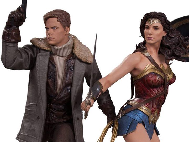 Estátua Mulher-Maravilha e Steve Trevor: Mulher-Maravilha (Wonder Woman) (Escala 1/6) - DC Collectibles (Apenas Venda Online)