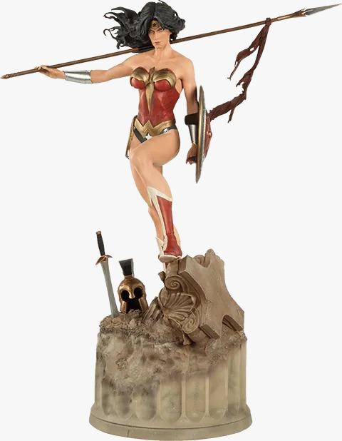 Estátua Mulher Maravilha Wonder Woman: DC Comics Premium Format 300115