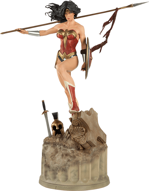 Estátua Mulher Maravilha (Wonder Woman): DC Comics (Premium Format) (300115) - Sideshow Collectibles