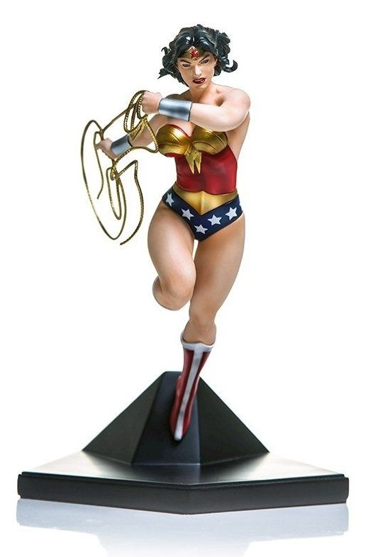 Estátua Mulher-Maravilha (Wonder Woman): DC Comics Serie 3 (Ivan Reis) Art Scale 1/10 - Iron Studios