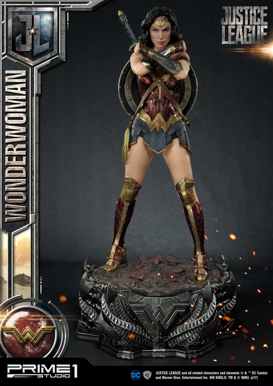 Estátua Mulher Maravilha Wonder Woman: Liga da Justiça Justice League Escala 1/3 - Prime 1 Studios
