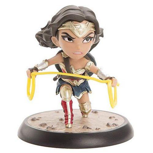 Estátua Mulher-Maravilha (Wonder Woman): Liga da Justiça (Justice League) (Q-Fig) - Quantum Mechanix