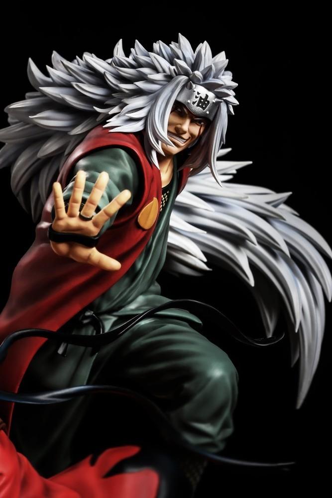 PRÉ VENDA: Estátua Naruto Minato Jiraya: Naruto Shippuden - Surge Studio