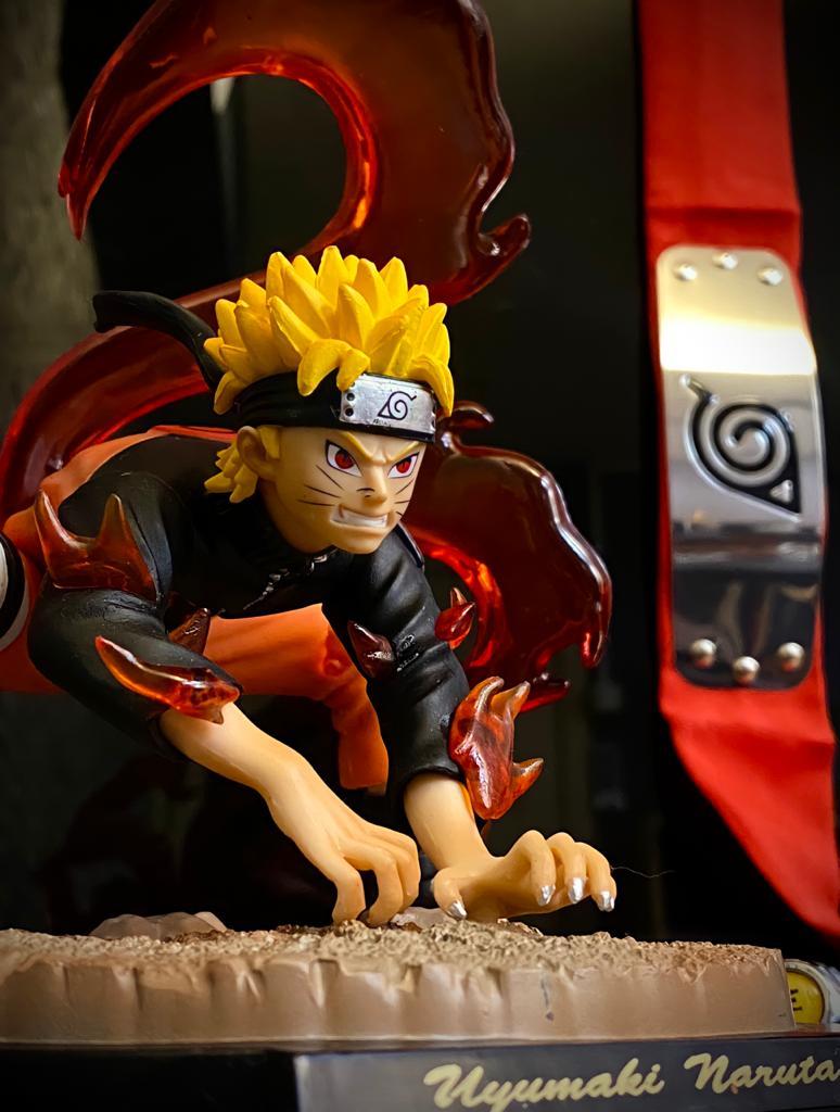 Estátua Naruto Modo Kurama: Naruto Shippuden