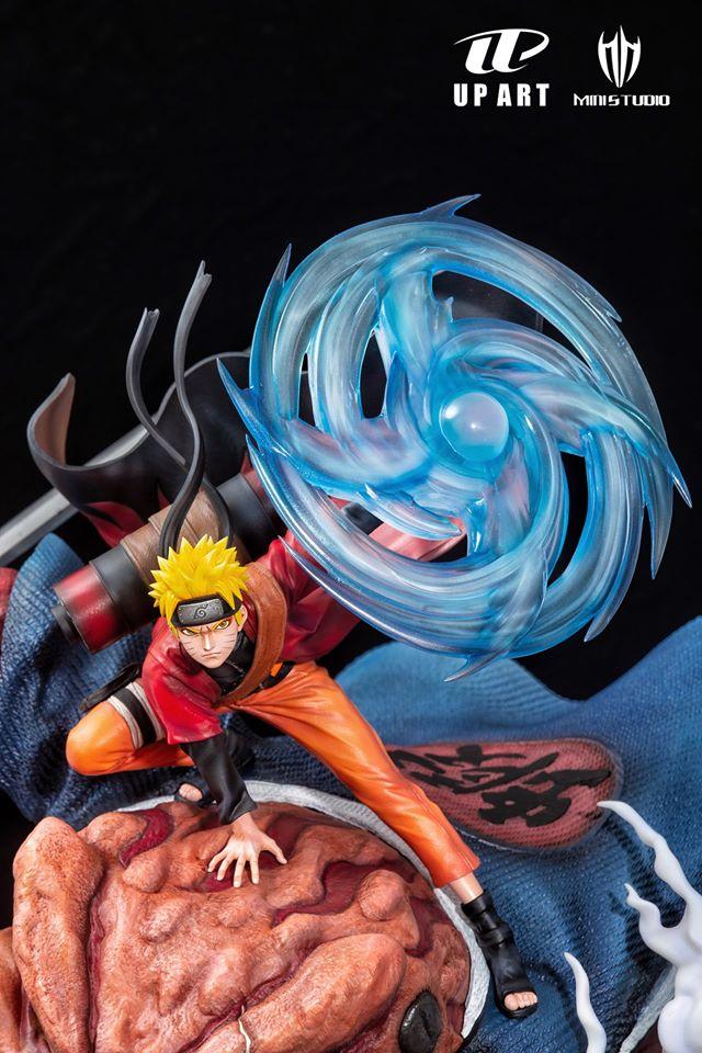 Estátua Naruto Sage Mode & Gamabunta HIGH version: Naruto Shippuden Escala1/6 - UP Art x MINI studio (Apenas Venda Online)