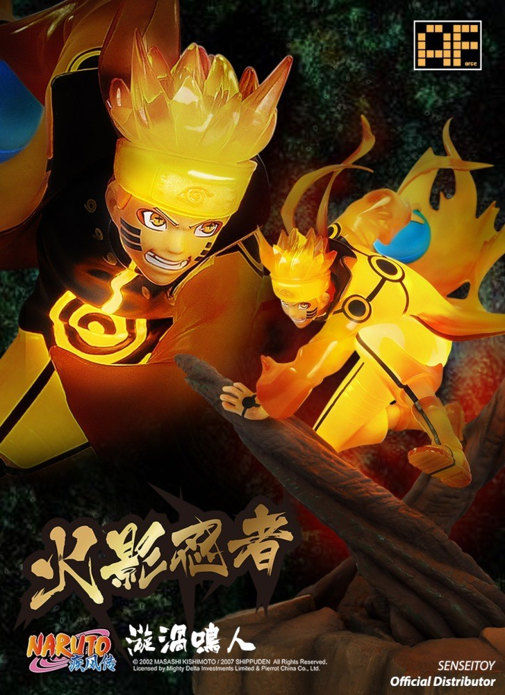 PRÉ VENDA: Estátua Naruto Uzumaki Modo Kurama - AForce
