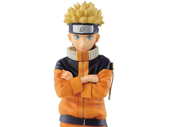 Action Figure Naruto Uzumaki: Naruto (Grandista) Boneco Colecionável - Banpresto
