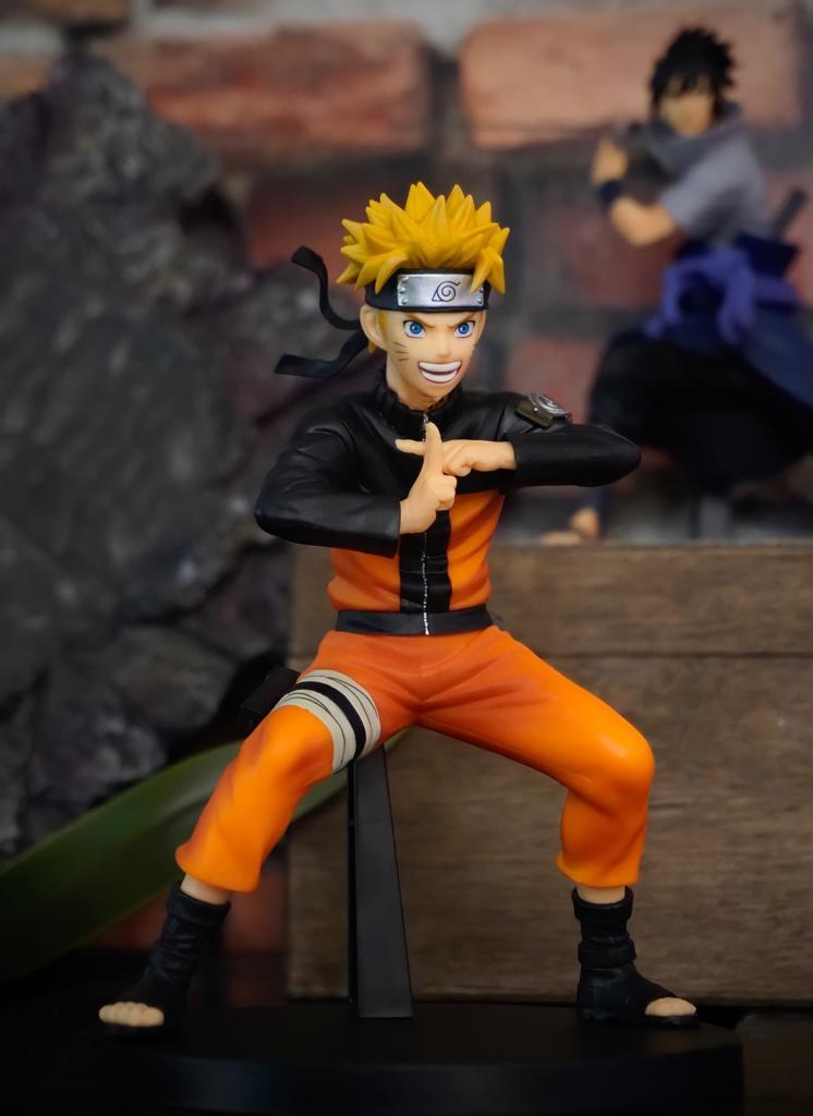 Estátua Naruto Uzumaki: Naruto Shippuden 20 Anos Vibration Stars II Bandai - Banpresto