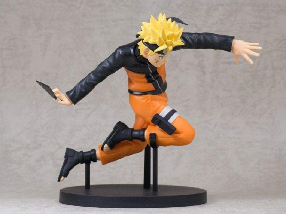 Estátua Naruto Uzumaki: Naruto Shippuden (50th Jump) - Banpresto
