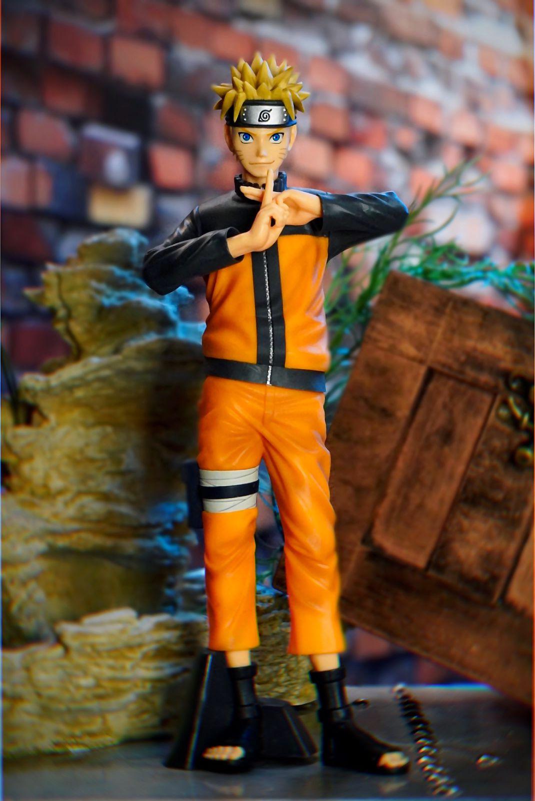 Estátua Naruto Uzumaki: Naruto Shippuden Nero Grandista - Banpresto