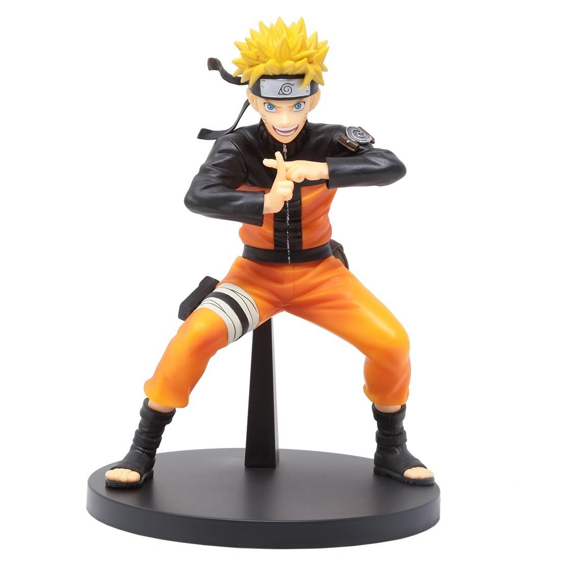 Estátua Naruto Uzumaki: Naruto Shippuden (Vibration Stars II) - Banpresto