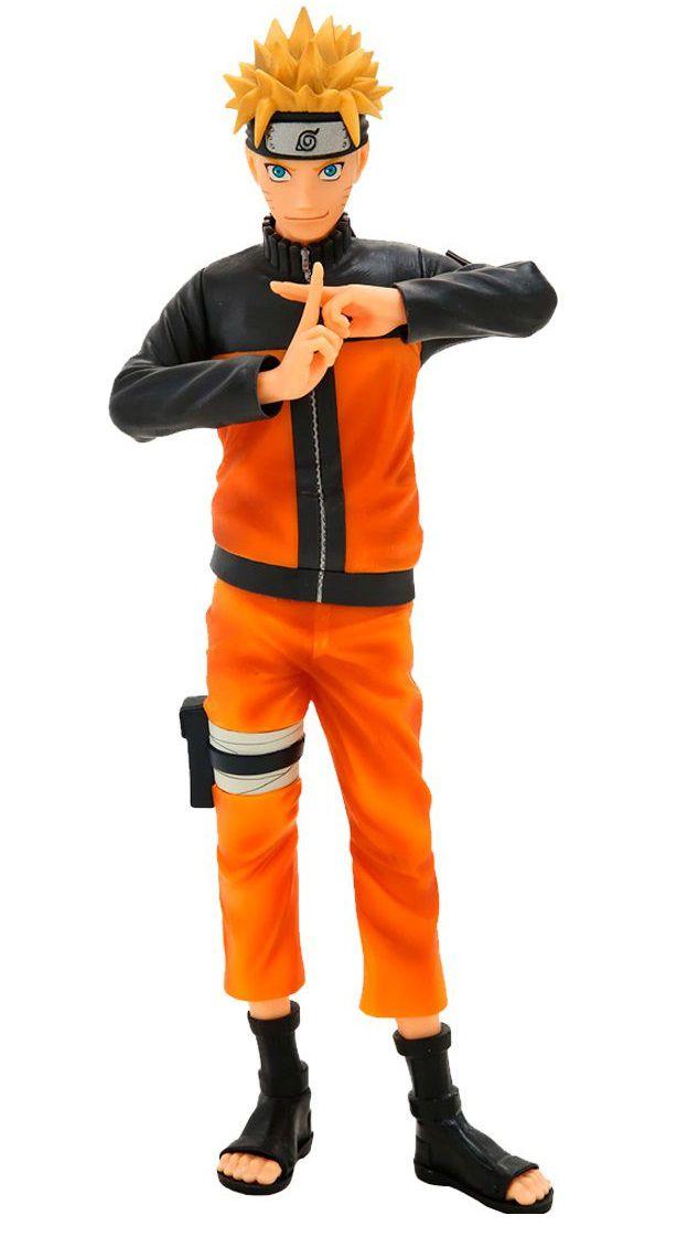 Estátua Naruto Uzumaki (Nero): Naruto Shippuden (Grandista) - Banpresto