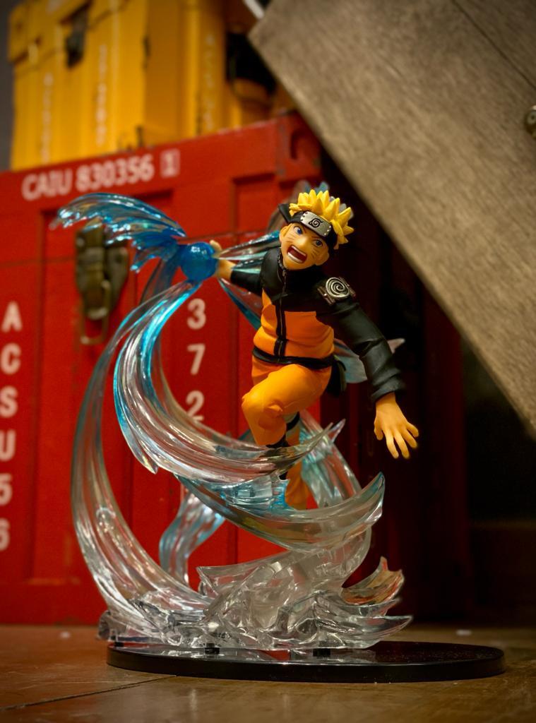 Estátua Naruto Uzumaki ''Rasengan'':  Naruto Shippuden -  Kizuna Relation Figuarts Zero Anime Mangá