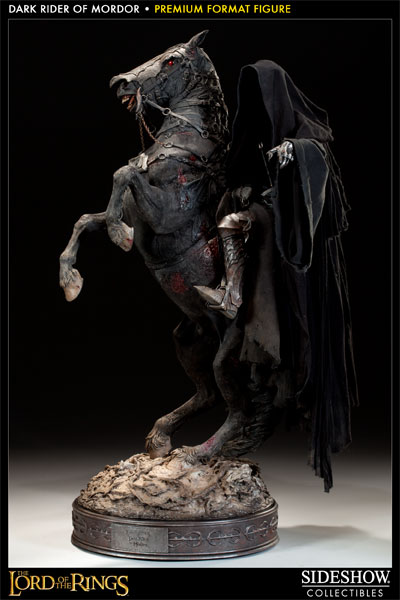 Estátua Nazgul: Dark Rider of Mordor: O Senhor dos Anéis (The Lord of the Rings) Escala 1/4 - Sideshow - CG