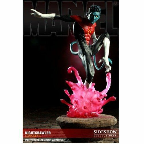 Estátua Noturno (Nightcrawler) Comiquette: Marvel Collectibles - Sideshow