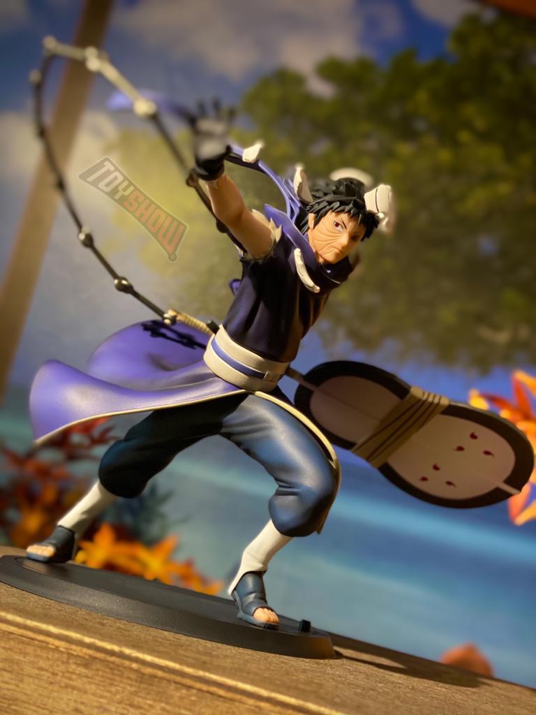 Estátua: Obito Uchiha - Xtra Figures (Naruto Shippuden) Anime Mangá - Banpresto