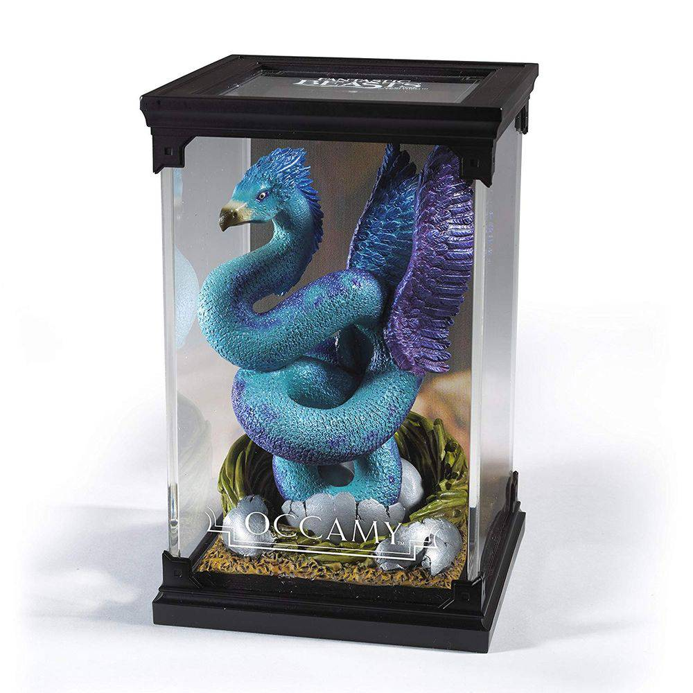 Estátua Occami(Occamy): Harry Potter Criaturas Mágicas (Magical Creatures) - Noble Collection