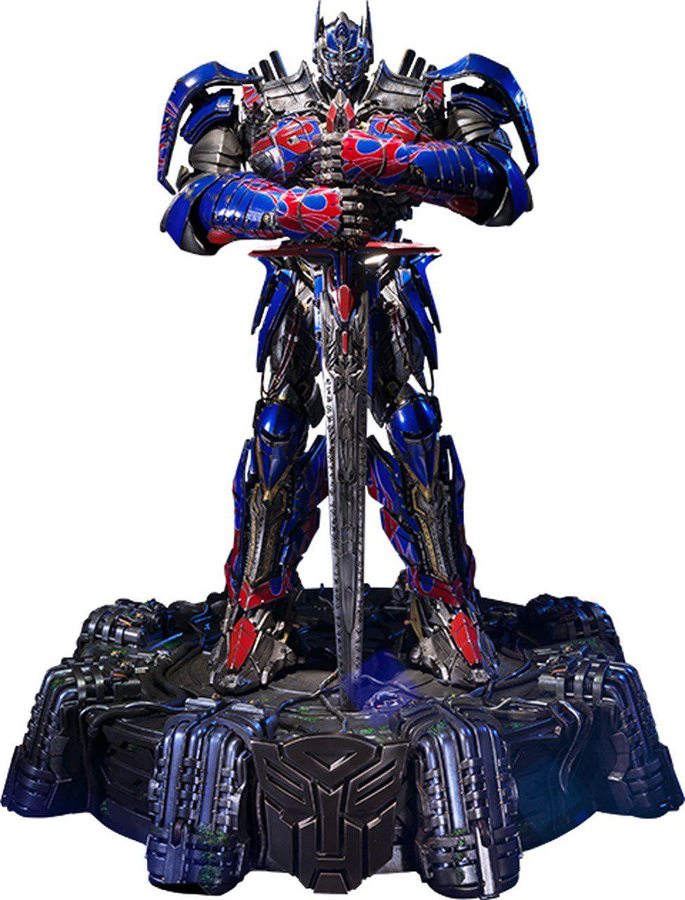 Estátua Optimus Prime (Knight Edition): Transformers A Era da Extinção (Age of Extinction) - Prime 1 Studio