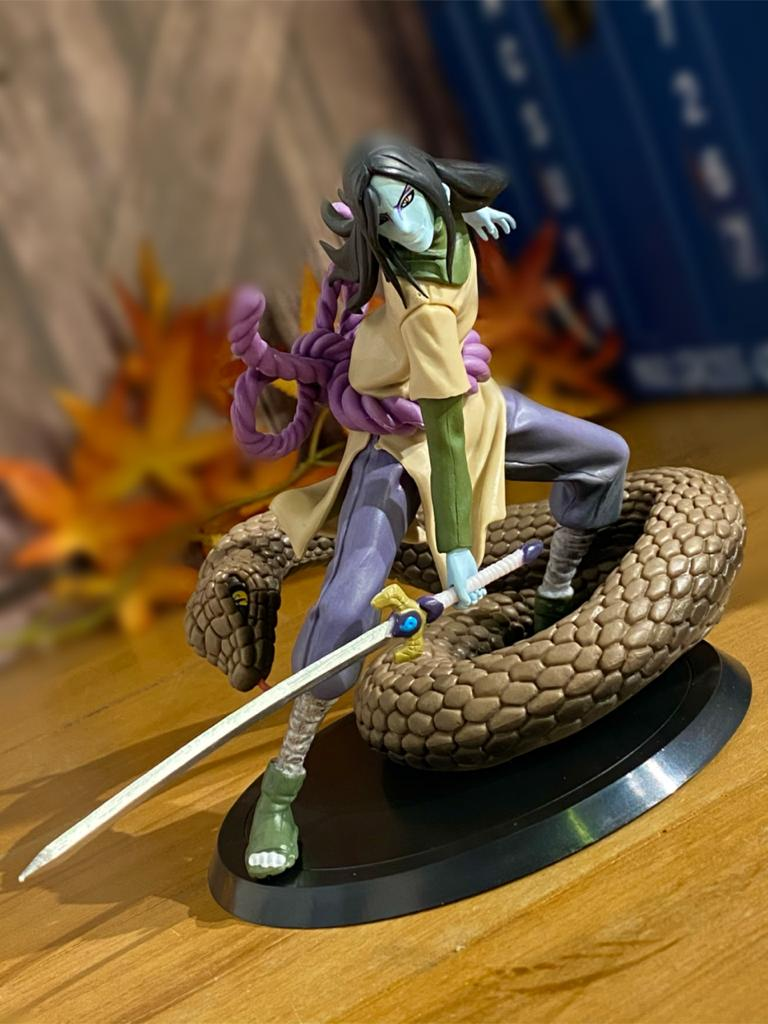 Estátua Orochimaru: Naruto Shippuden